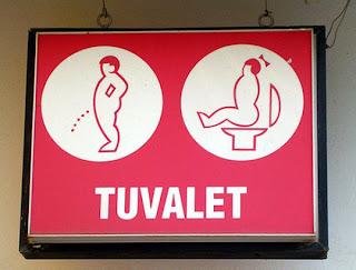 smešne slike:  tursko označenje za toalet