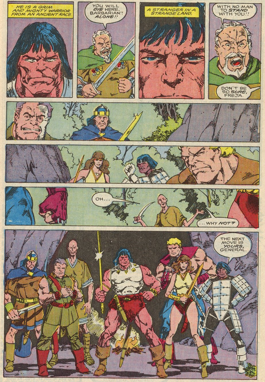 Conan the Barbarian (1970) Issue #197 #209 - English 19