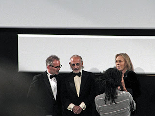 UPenn and Faye Dunaway and Penn in Cannes