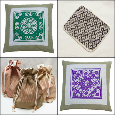 TAMMACHAT Natural Textiles' cotton products