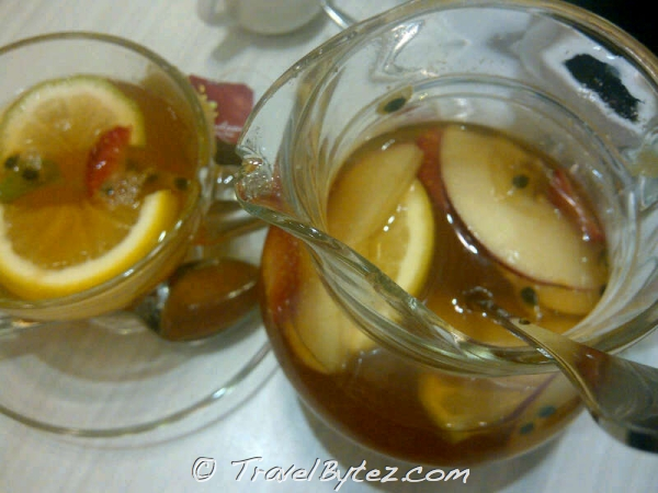鮮釀水果冰茶 - Fresh Fruit Iced Tea