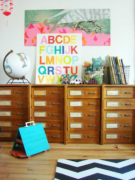handmade alphabet poster