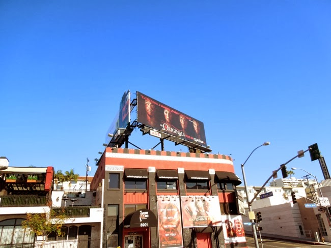 The Originals billboard Sunset Strip