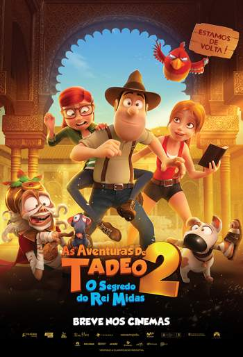 As Aventuras de Tadeo 2: O Segredo do Rei Midas Torrent - BluRay 720p/1080p Dual Áudio