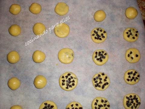 Cocinando para ellos galletas con chocolate y cerezas - Cocinando para ellos ...