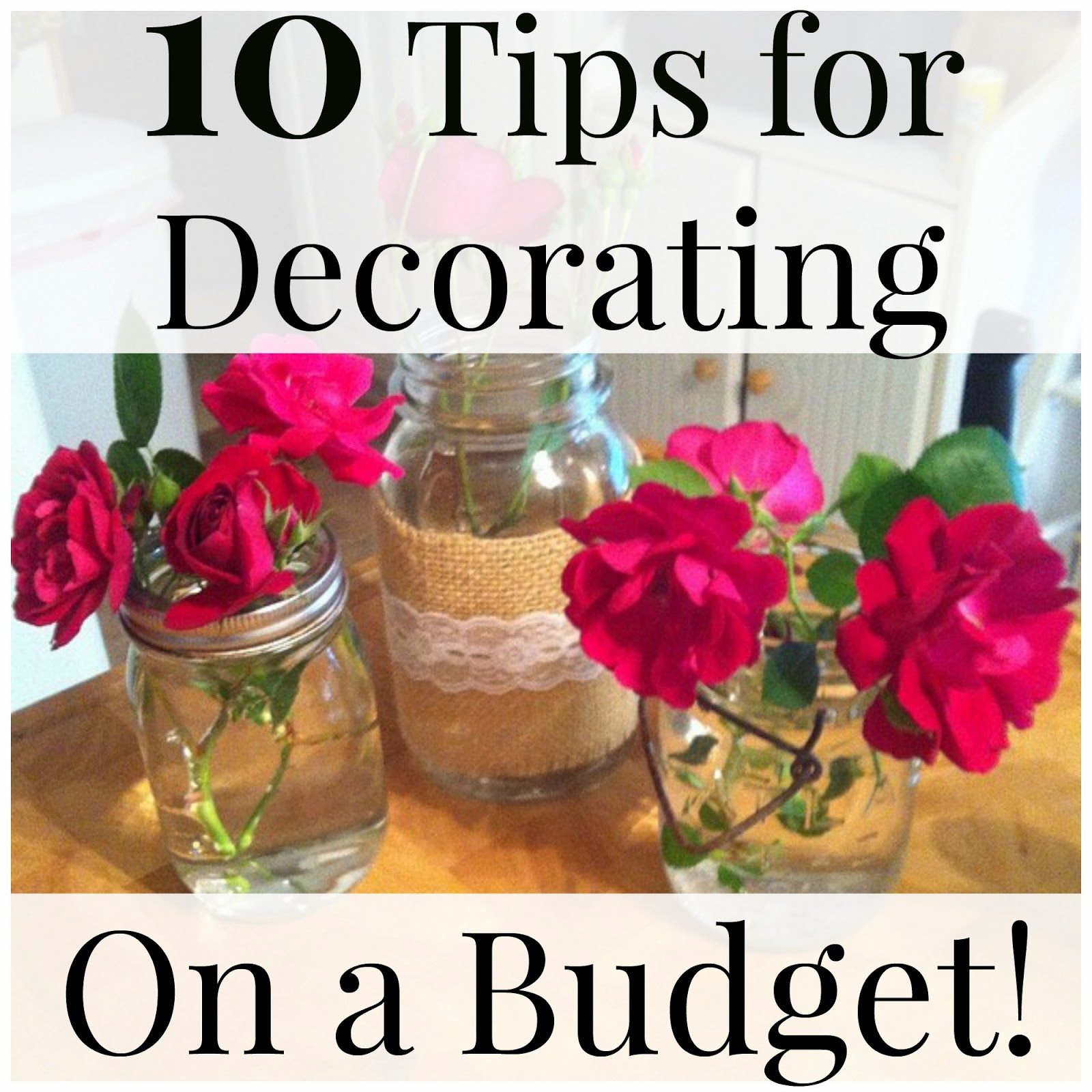 thrifty 31 blog 10 tips for decorating on a budget