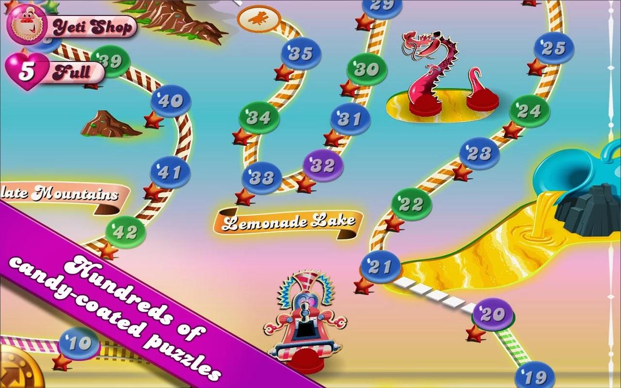 Candy Crush Saga v1.29.0 Mod [Unlimited Lives]