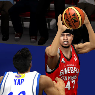 Mark Caguioa James Yap PBA 2K13