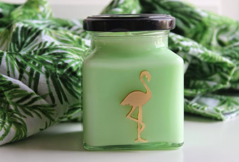 Flamingo Candles Applecurrant Crumble