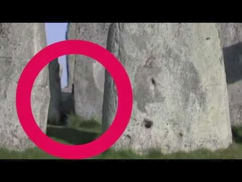 Real Ghost Caught on Tape in Stonehenge