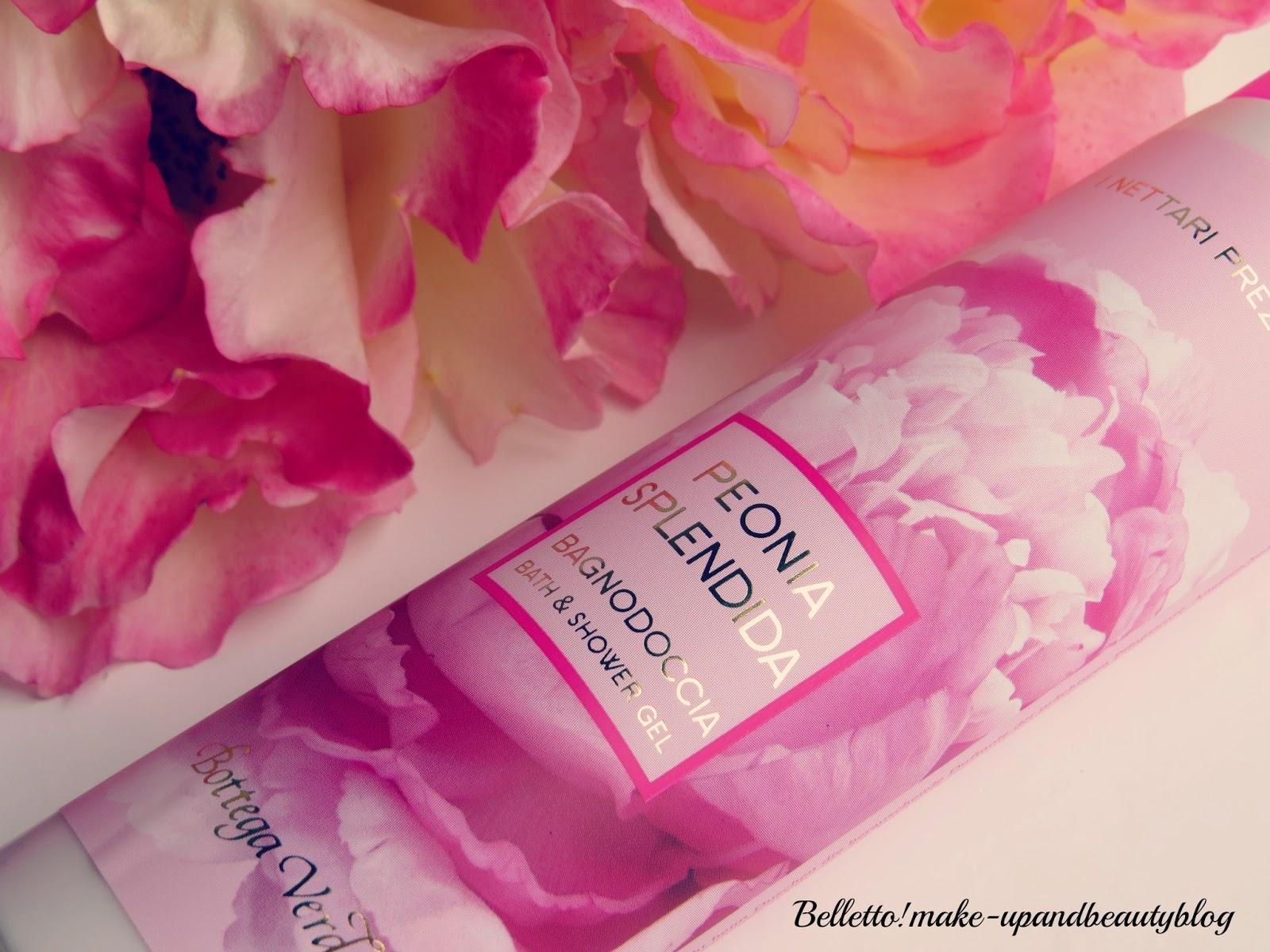 Bagno Doccia Bottega Verde : Belletto! make up and beauty blog: bottega verde peonia splendida