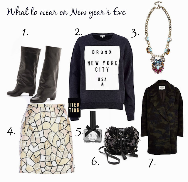 see by chloe, new year's eve, what to wear ,sequins ,glamorous,OOTD, style, thepisceswoman fashion blog, shop, boots, trends, אופנה, בלוג אופנה
