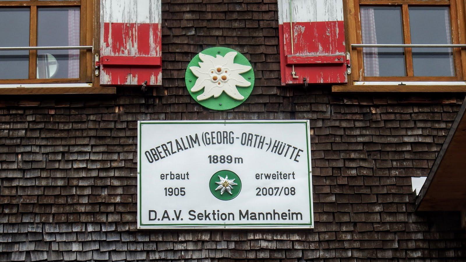 Oberzalimhutte