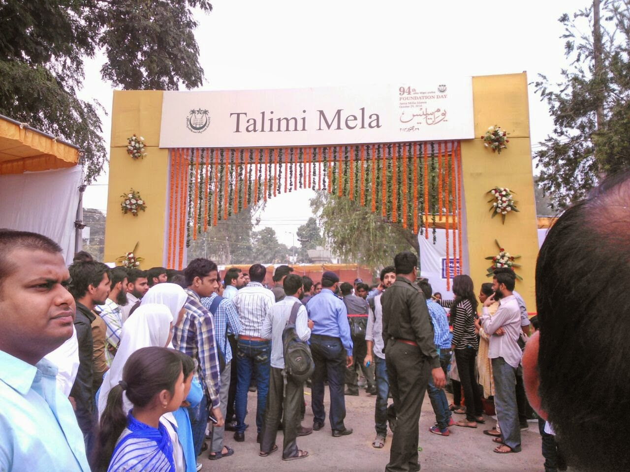 94th Foundation Day Celebrations in Jamia Millia Islamia