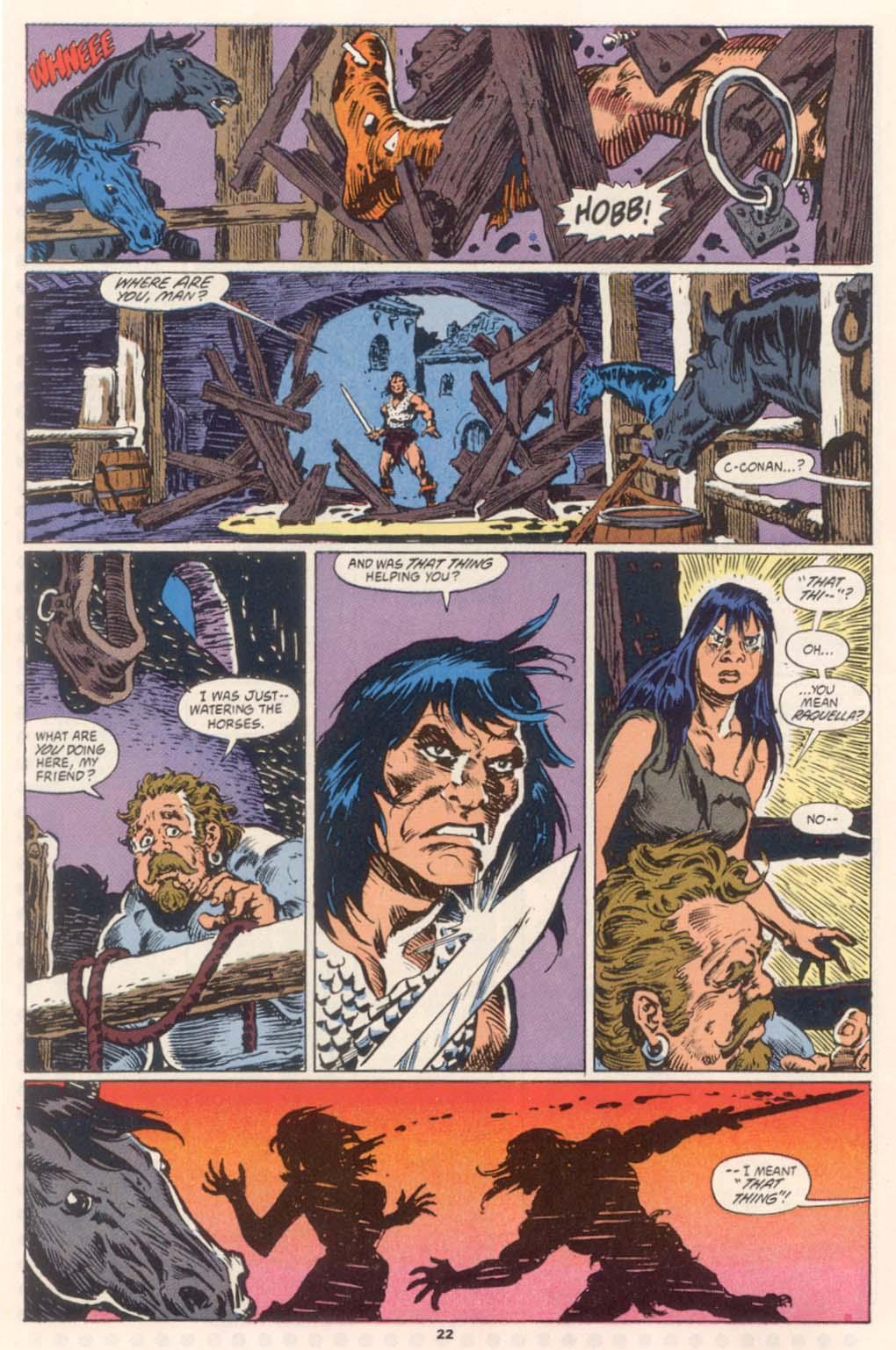 Conan the Barbarian (1970) Issue #252 #264 - English 17