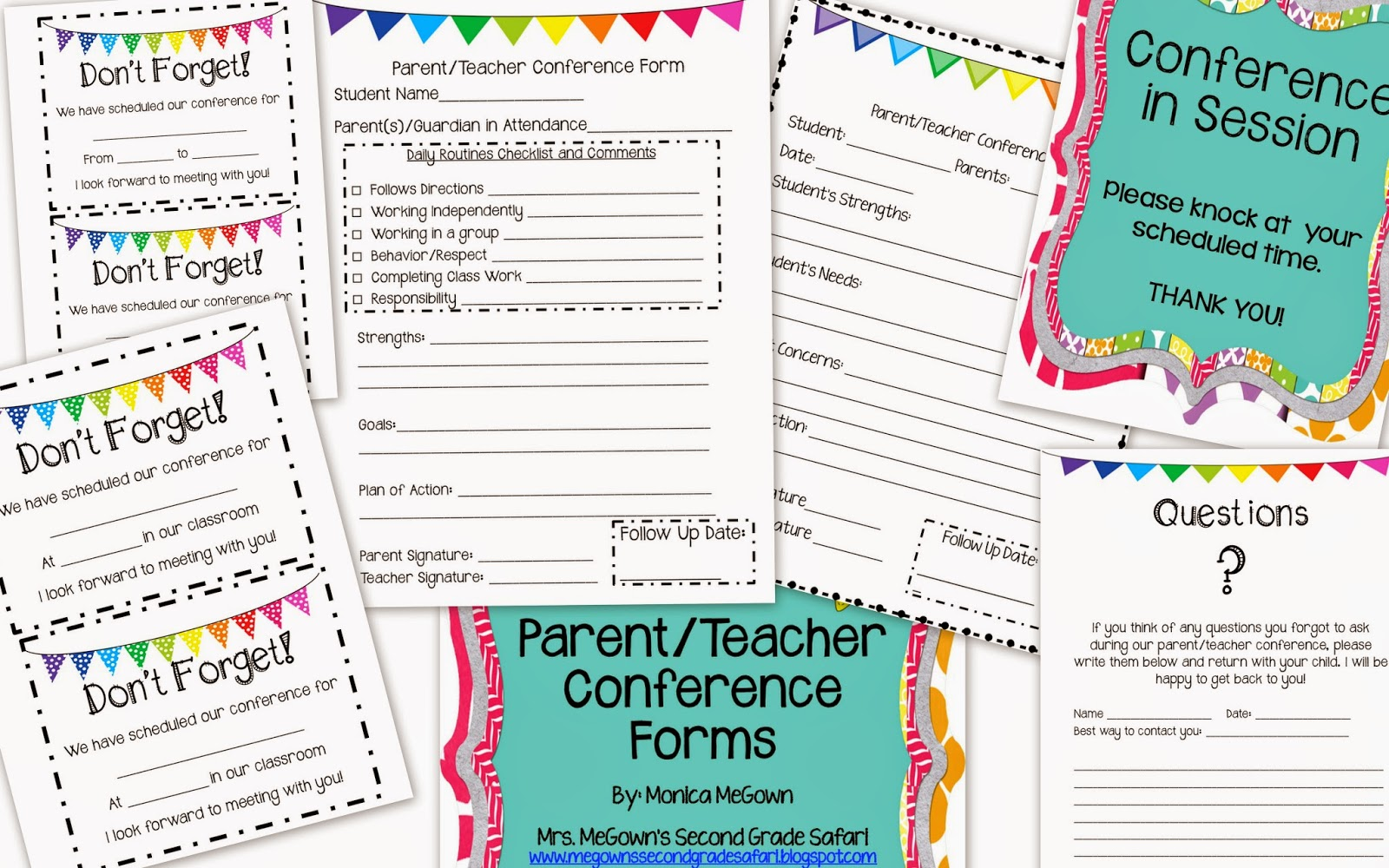Parent/Teacher Conferences: Helpful Hints And A SALE!