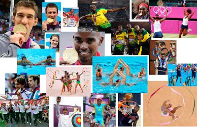 Los atletas más destacados de Londres 2012