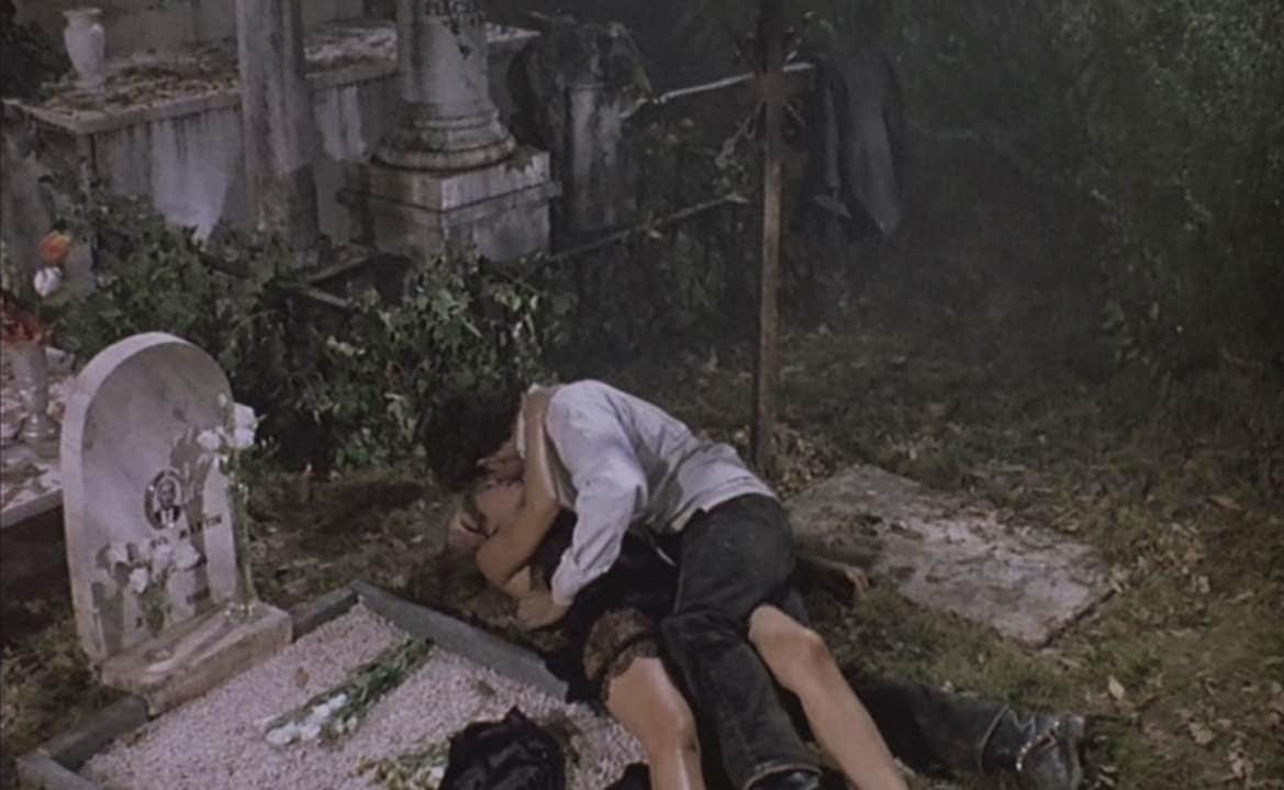 Cemetery Man Sex Scene