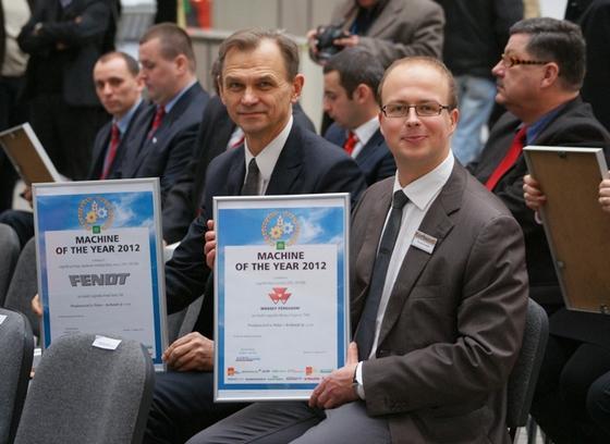 Tytuły Maszyn Roku 2012 (Machine of the Year 2012).