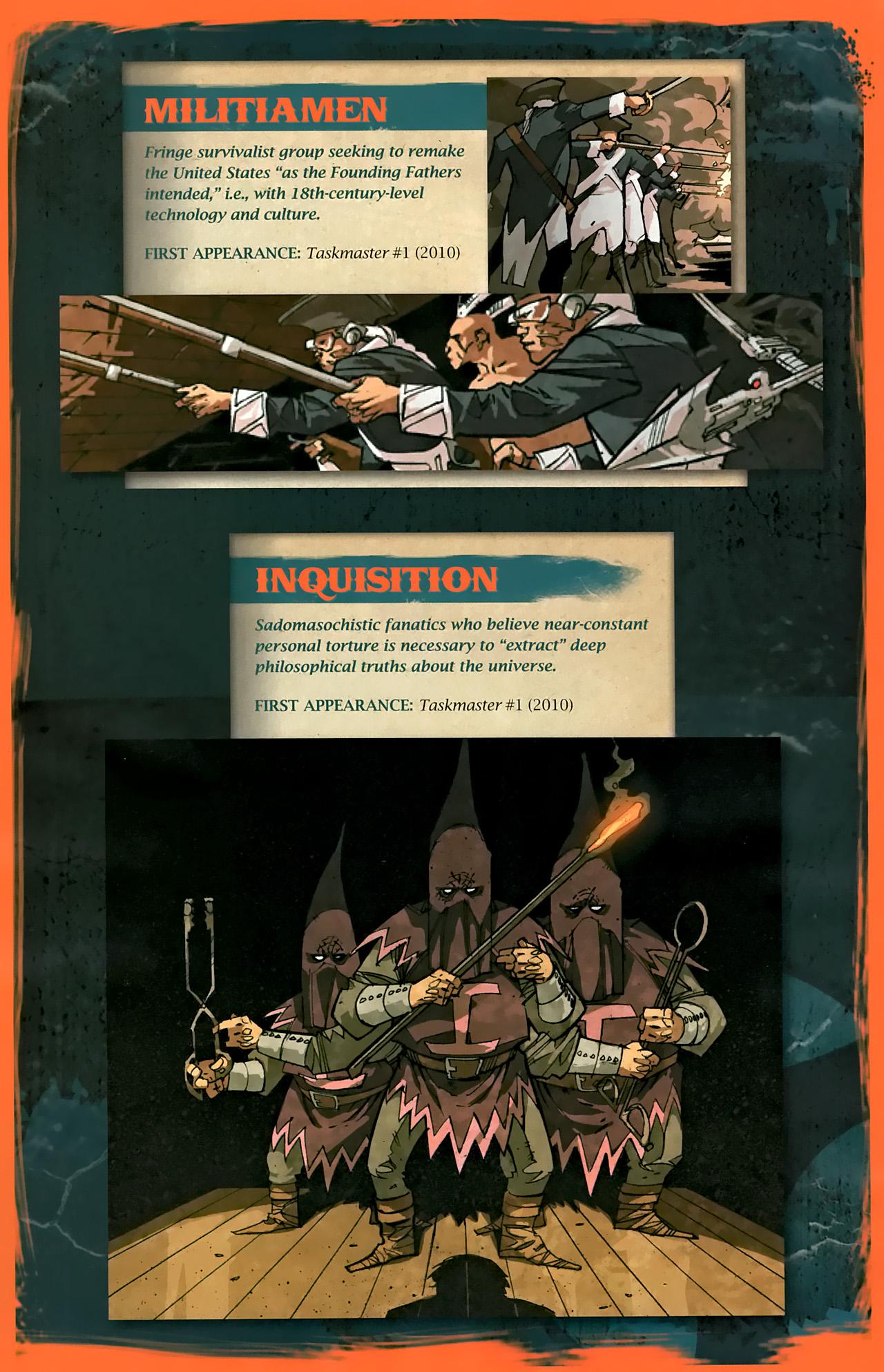 Read online Taskmaster (2010) comic -  Issue #1 - 29