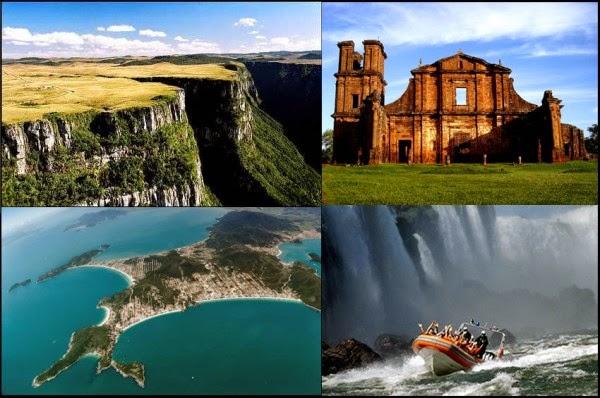 A viagem passará por toda a região sul (foto: montagem/reprodução)