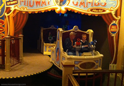 Toy  Story Midway Mania Disney California Adventure ride vehicle