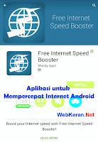 Mempercepat Internet Android tanpa Rooting