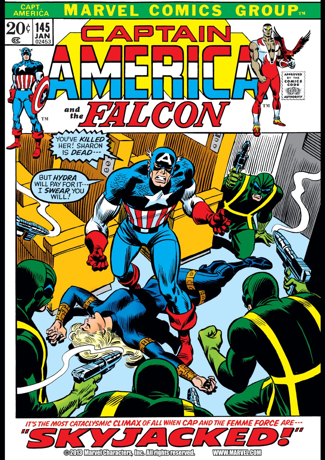 Captain America (1968) Issue #145 #59 - English 1