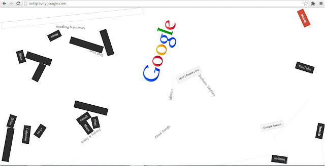 Must see this Awesome Anti-Gravity Google Website.