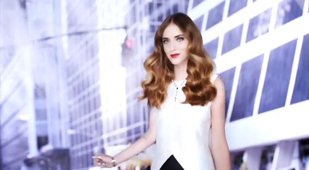 Chiara Ferragni per la campagne Redken Blonde Idol