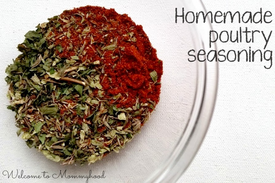 Poultry Seasoning Recipe {Welcome to Mommyhood} #paleo, #whole30