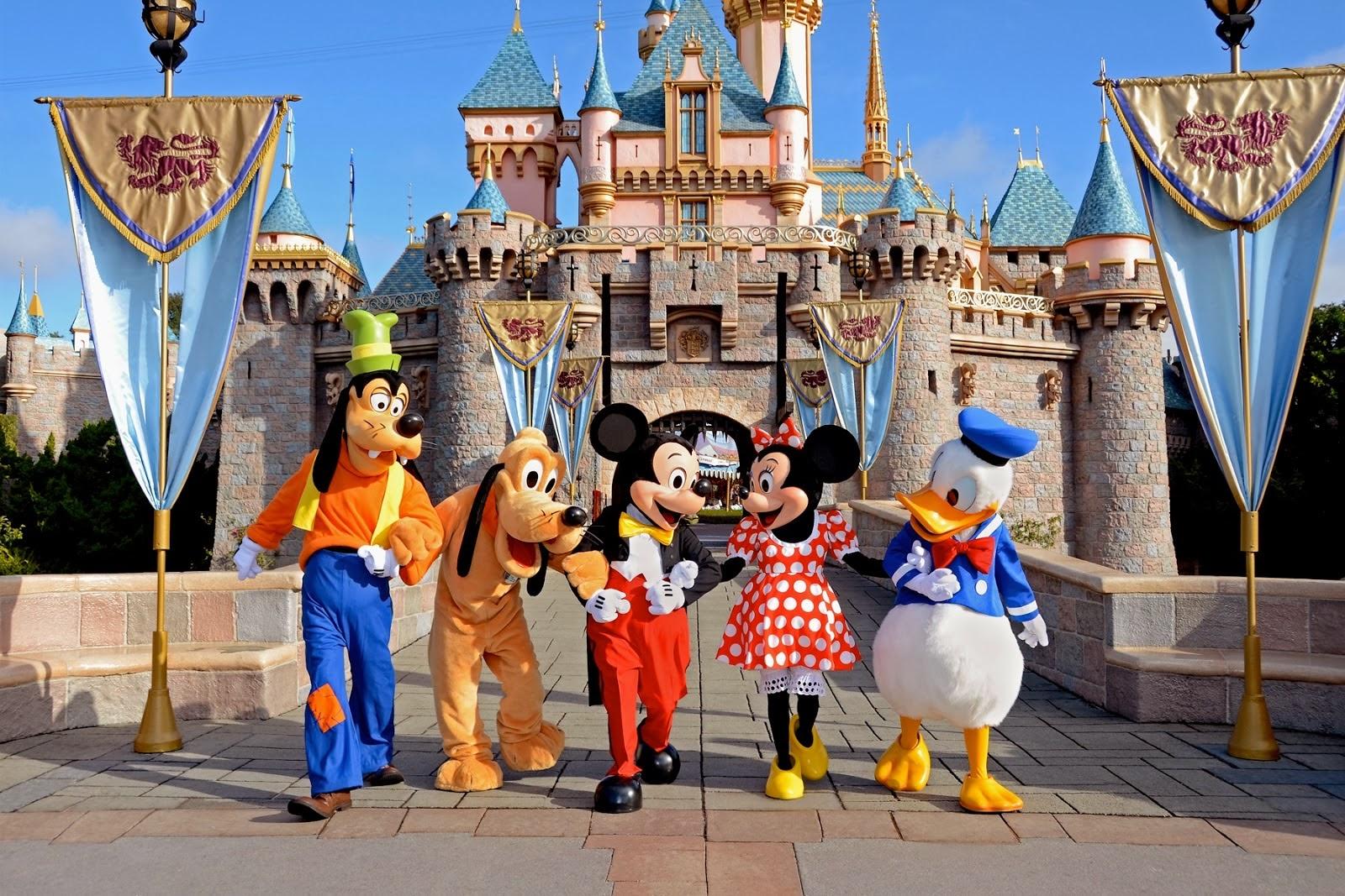 Fotos da Disney em Orlando Parede da Disney Orlando
