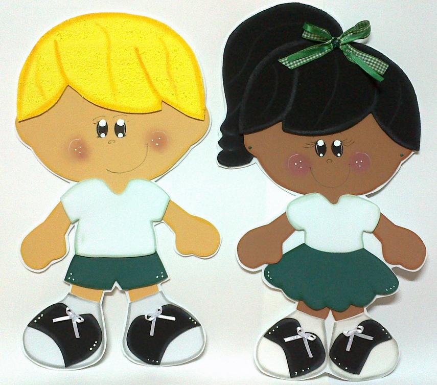 Meninos Em Eva ~ IN u00caS Artes em EVA Apliques de Menina e Menino 40cm em Eva