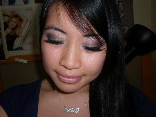 Green and Purple Eyeshadow Looks
