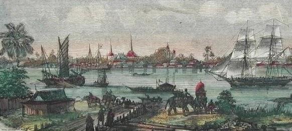 พระบาทสมเด็จพระพุทธยอดฟ้าจุฬาโลกมหาราชรับสั่งย้ายราชธานีจากฝั่งธนบุรีมายังฝั่งกรุงเทพฯ