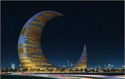 """Torre """"Luna Creciente"""" en Dubai"""