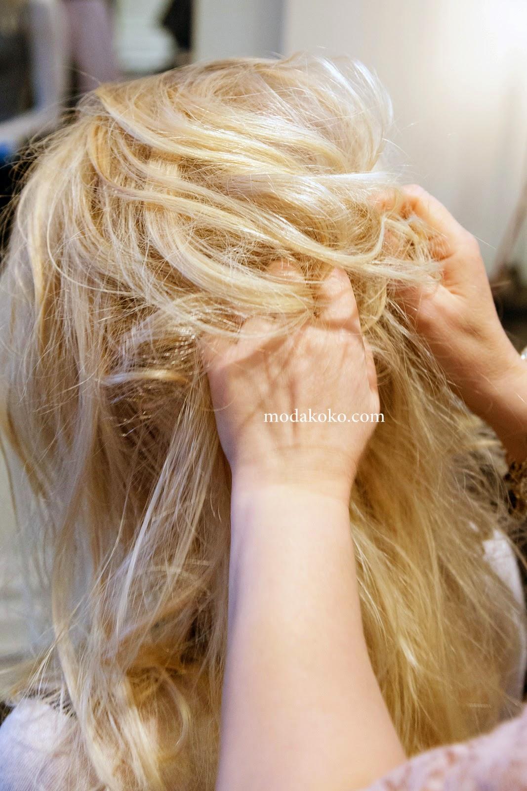 Kışa Özel Şık Saç Modeli Yapımı 2015