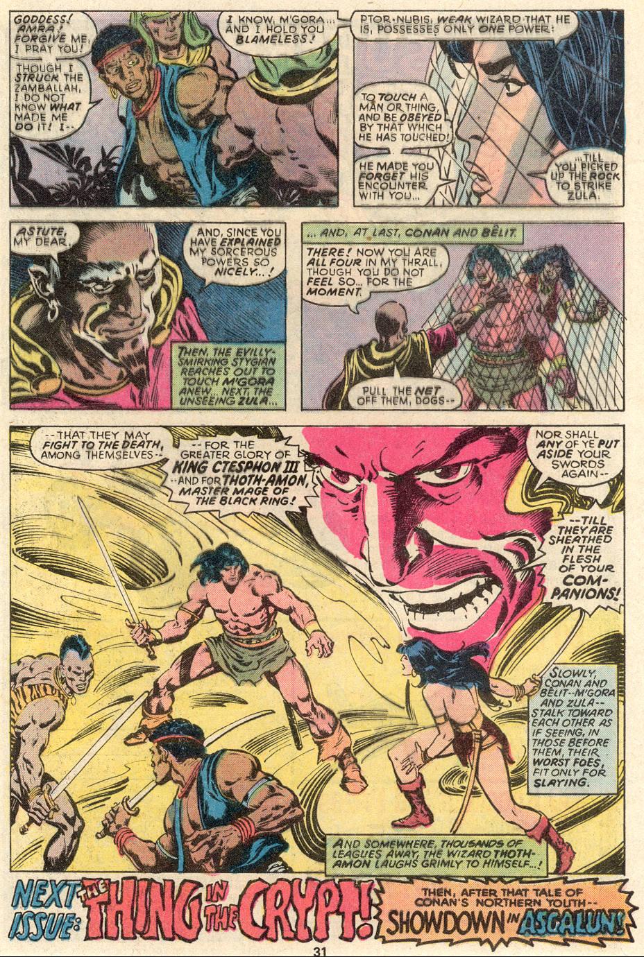 Conan the Barbarian (1970) Issue #91 #103 - English 18
