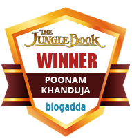 Winner With The Jungle Book & BlogAdda