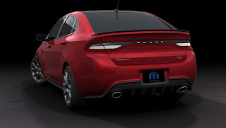 Dodge Dart GTS 210 Tribute (2013) Rear Side
