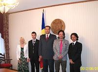 Internațional Jury and Marian Lupu, president  dans Dialog intercultural