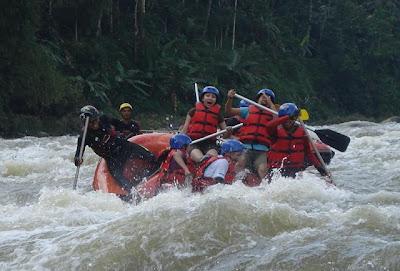 Serayu White Water Rafting Banjarnegara