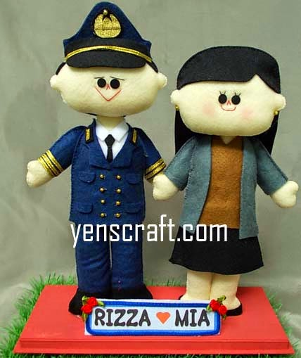 Boneka couple profesi dishub