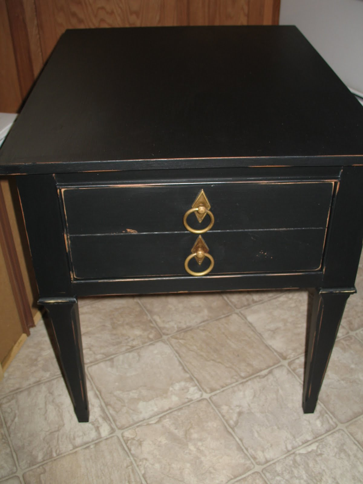 Shabby And Chic Black Night Stands