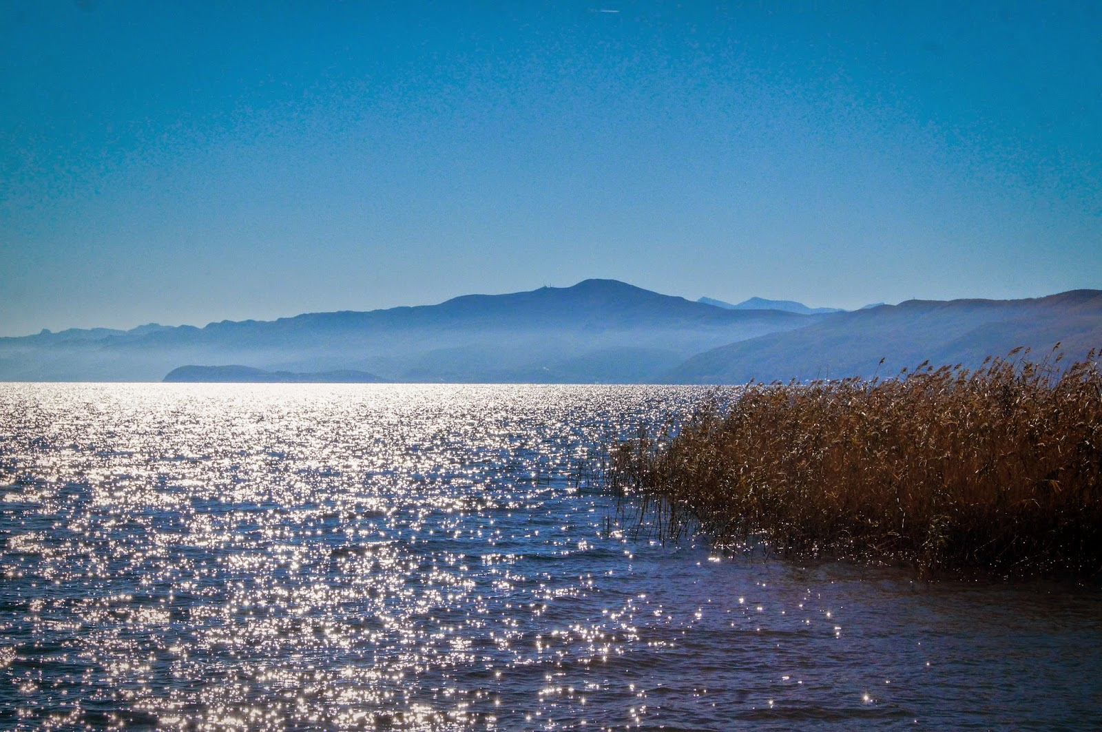 Lago Ohrid desde Struga