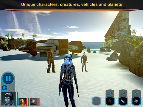 Star Wars®: Knights of the Old Republic™ For iPHone,iPad