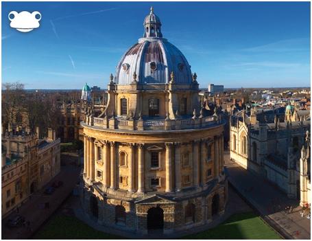 Kubah terkenal yang terdapat di Universiti Oxford