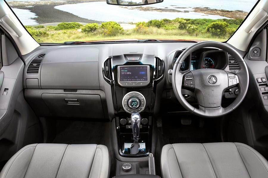Holden Colorado 7 LTZ (2015) Dashboard