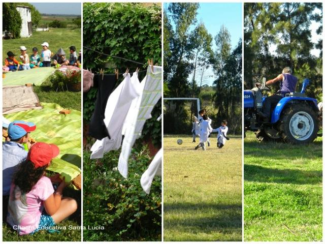 El tiempo atmosférico condiciona nuestras actividades - Chacra Educativa Santa Lucía