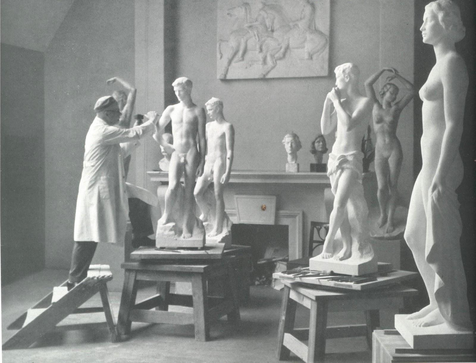 L'artiste - René François Sully Prudhomme Fritz+Klimsch+atelier+04